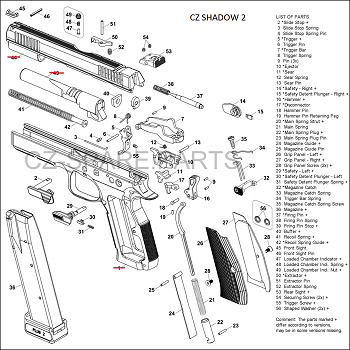 Active Cz Shadow 2 Diagram Cz Spare Parts And Accessories
