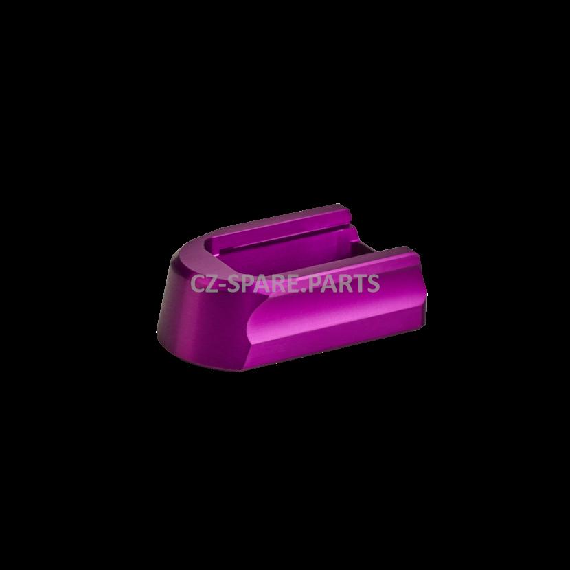 Magazine bottom CZ Shadow 2/SP01,19-rd elox purple
