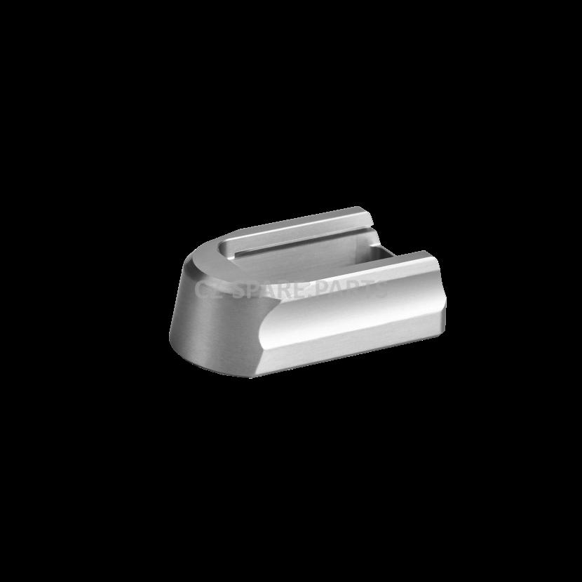 Magazine bottom CZ Shadow 2/SP01,19-rd elox silver